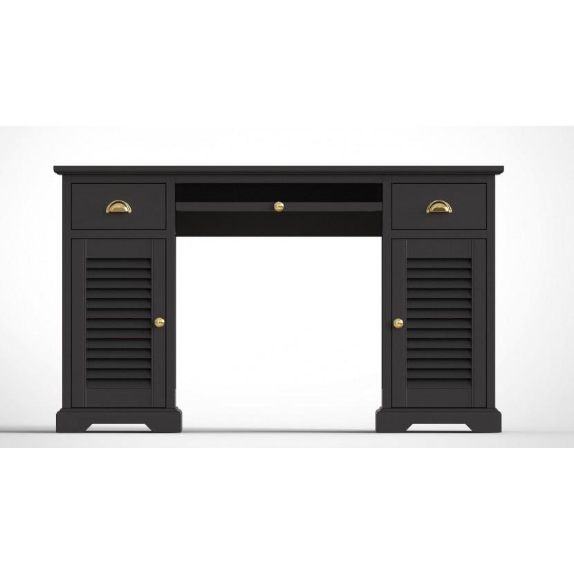 biurko skandynawskie czarne