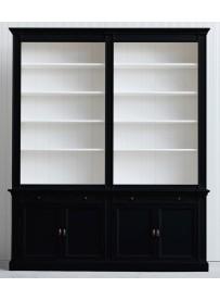 czarna biblioteczka