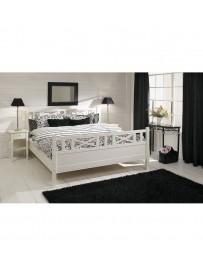 Łóżko w stylu skandynawskim...