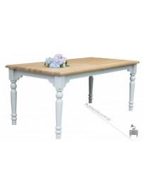 drewniany stół do salonu